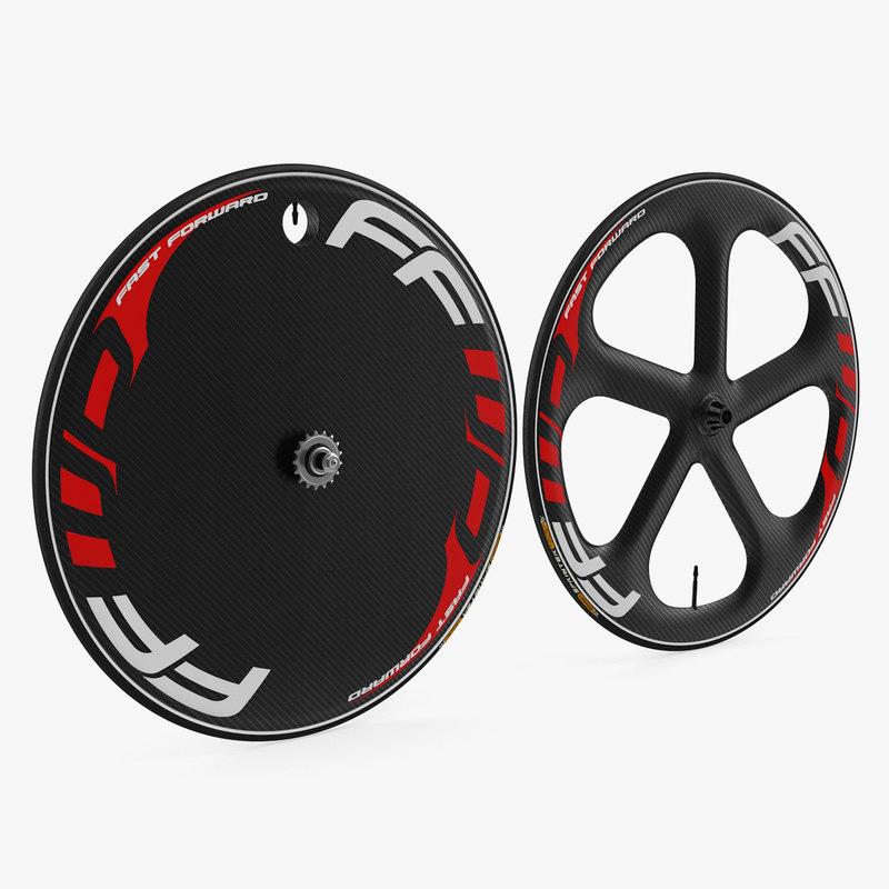 3D track bike wheelset wheels
