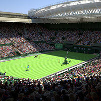 wimbledon centre court stadium 3D model