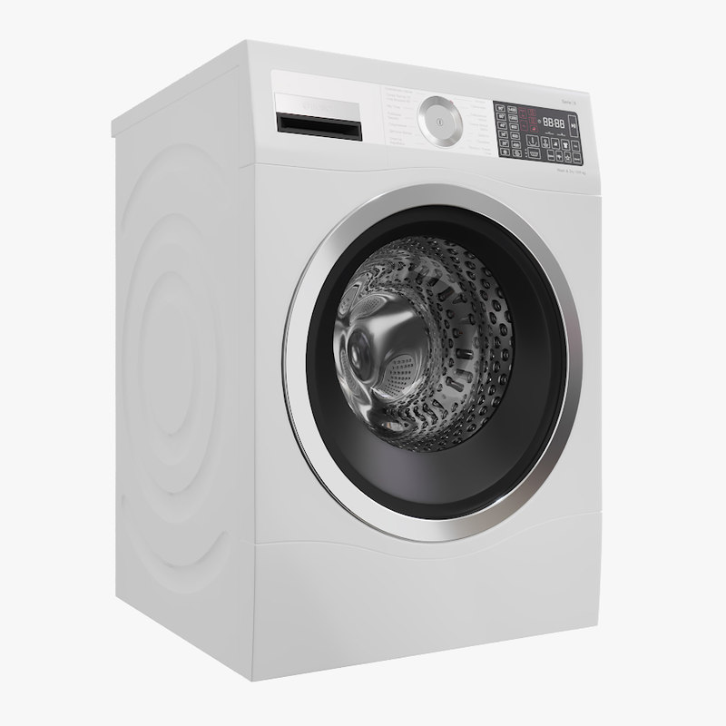 3D washer wash model