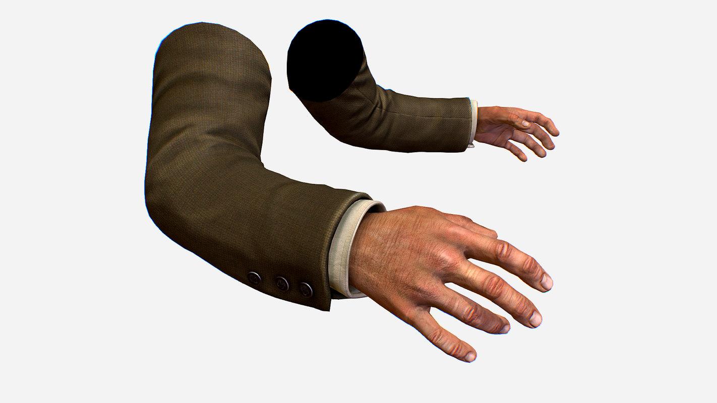 person arms shirt fps 3D