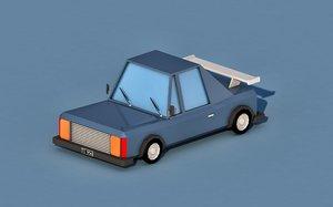 3D car cartoon racing