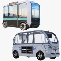 3D electric bus