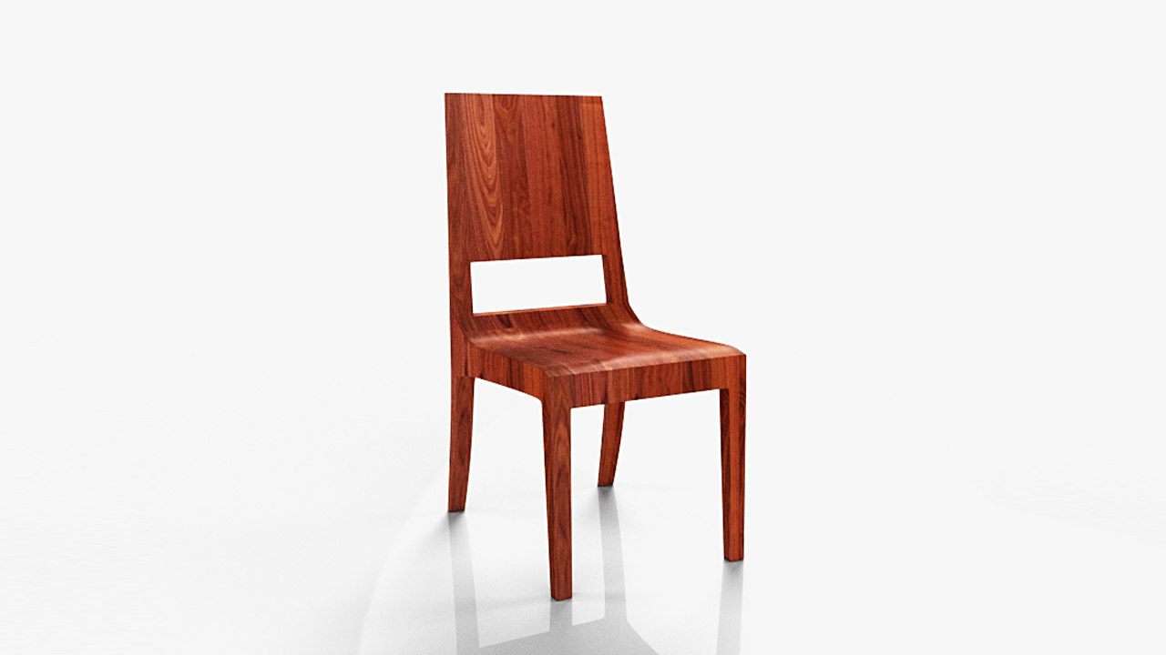 chair modeled realistic max