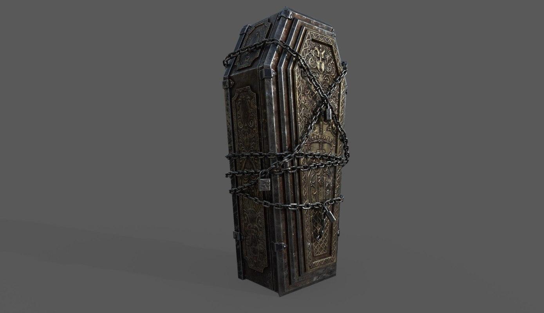 bloodborne coffin 3D