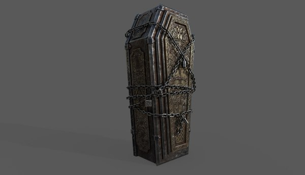 bloodborne coffin 3D