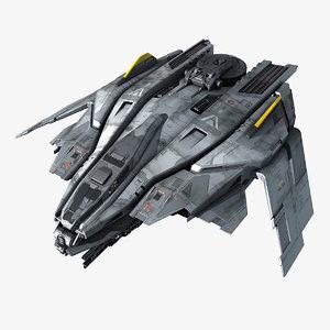 3D sf fighter f50
