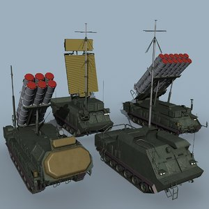 3D sa-17 buk-m3 battalion light