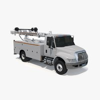 3D drilling truck