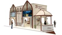 exhibition stand 12mx10m 120sqm double decker