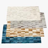 3d arlequin hide rugs