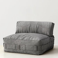 3ds max cargo lounge armless chair