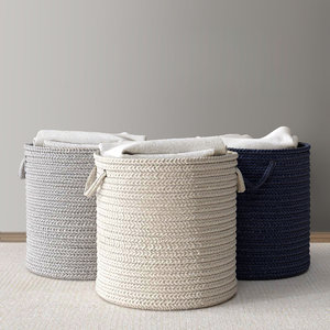 braided wool hamper 3d max