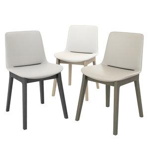 3D ventura chair poliform model