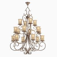 3D chandelier l modena l14515 model