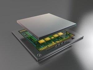 3D smart processor