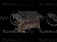 chinese native building 3D model