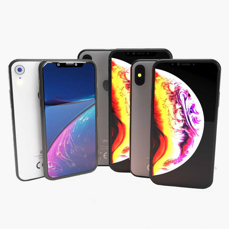 iphone set xs-xs max-xr model