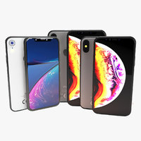 iphone set xs-xs max-xr model