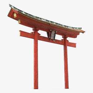 torii gate 3D