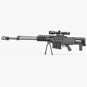 accuracy international as50 50 3D model