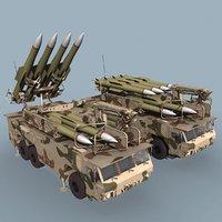 SA-17 Buk-M2E TEL