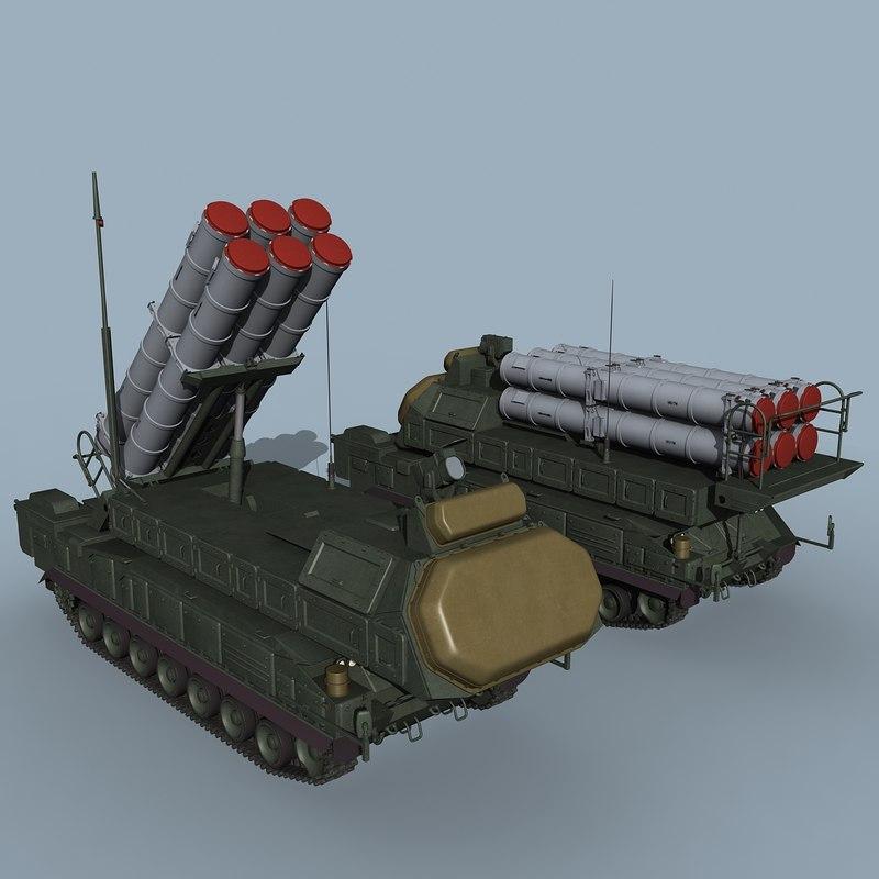 buk-m3 buk sa-17 telar 3D model
