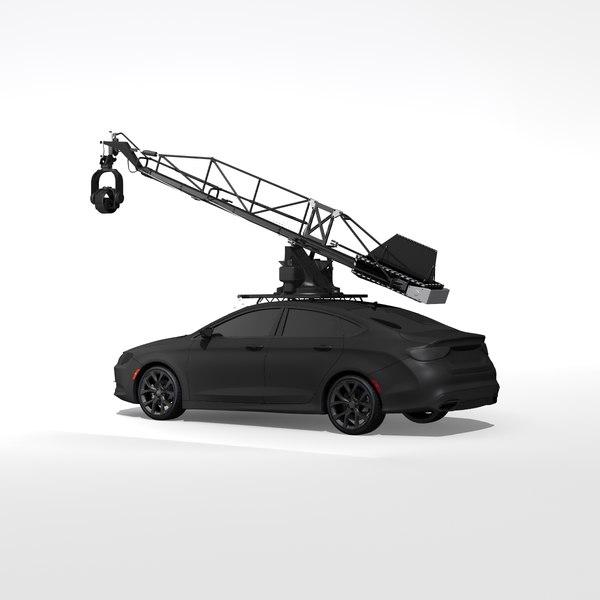 3D model special cam equipment