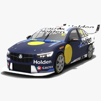 3D model holden zb commodore v8