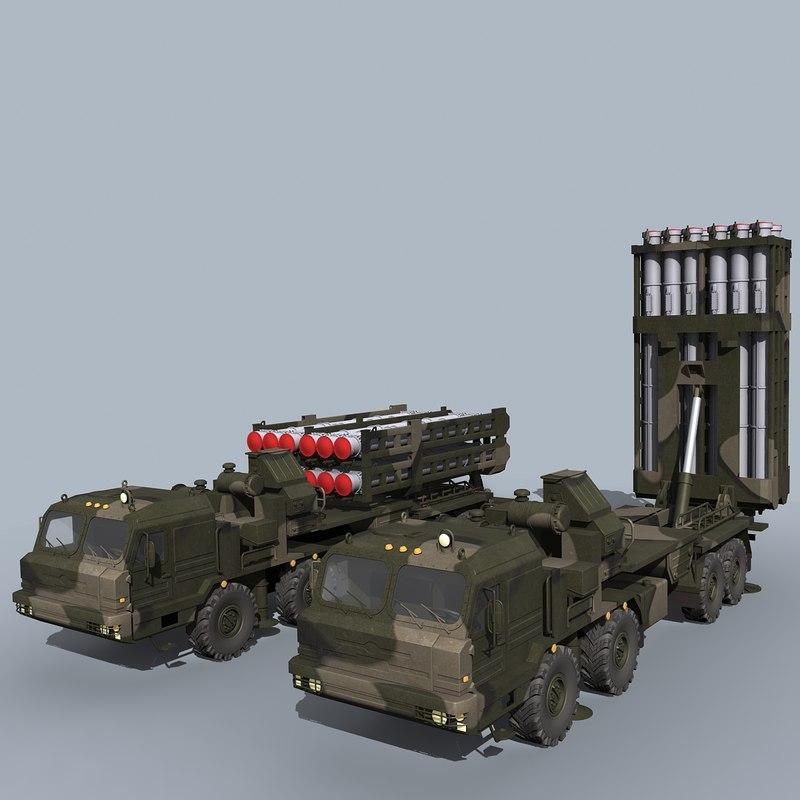 3d s-350 vityaz sam model