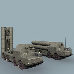 russian grumble sa-20 sam 3d model