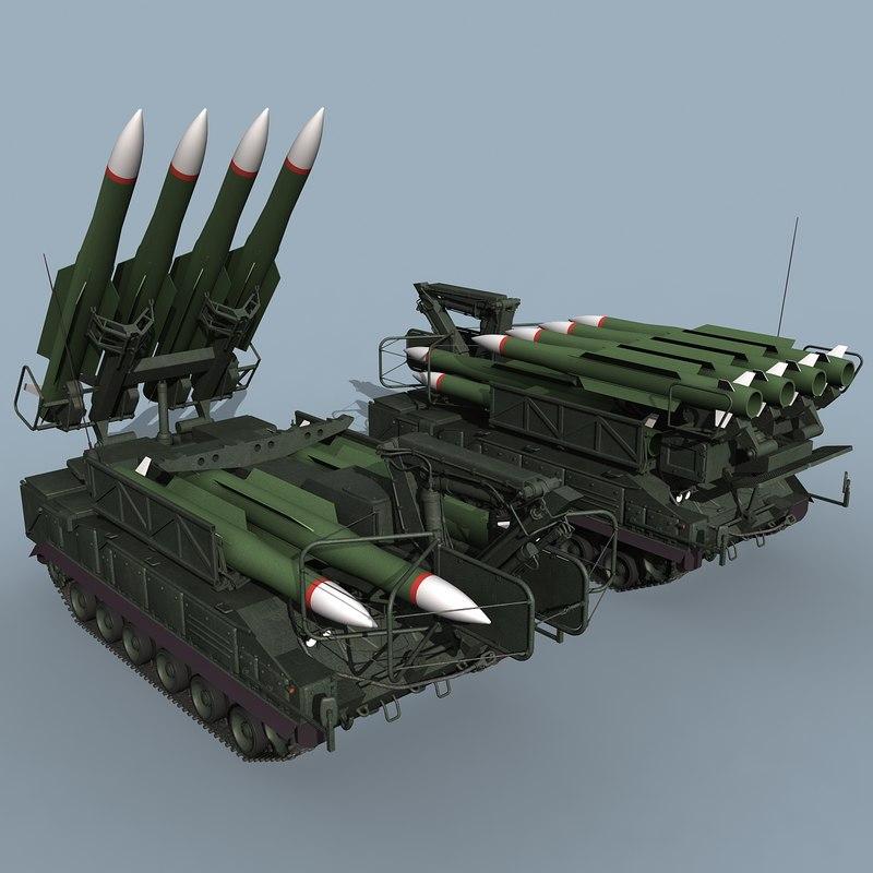 3d russian sa-11 gadfly sa-17 grizzly