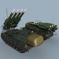 SA-11 Gadfly/SA-17 Grizzly TELAR