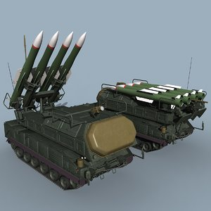 3d russian sa-17 grizzly