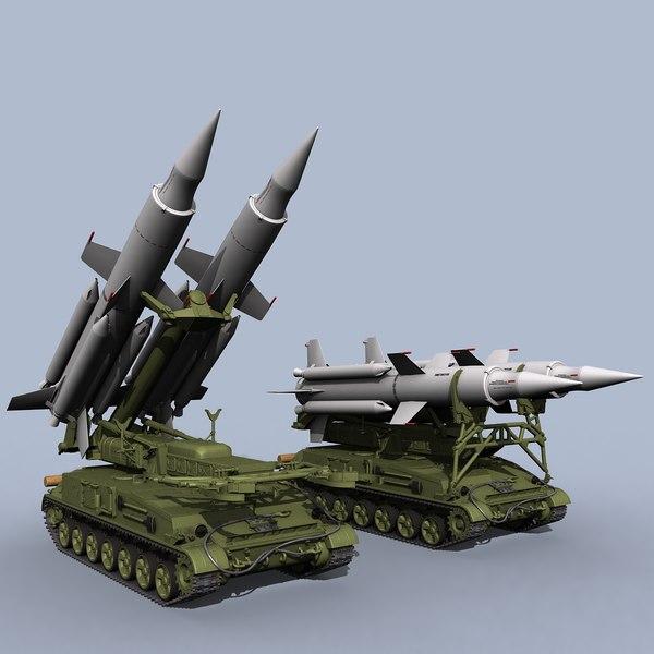 soviet sa-4 ganef 3d model