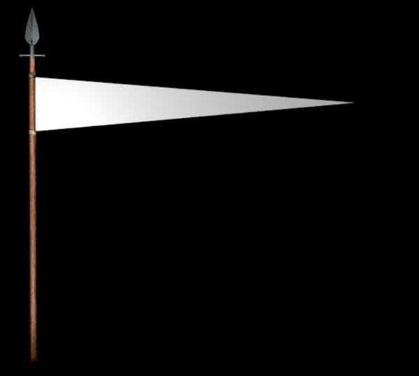 3D spear flags unity