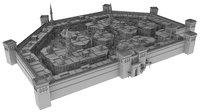 3D arabic city