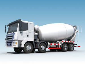 concrete mixer model