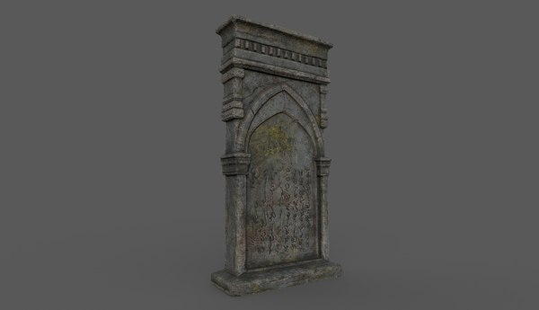 tombstone bloodborne style 3D