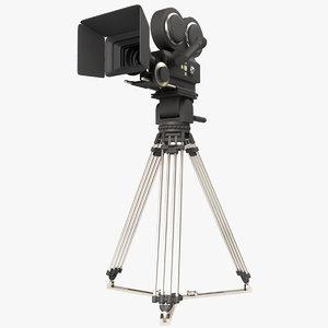 professional camera 3d model