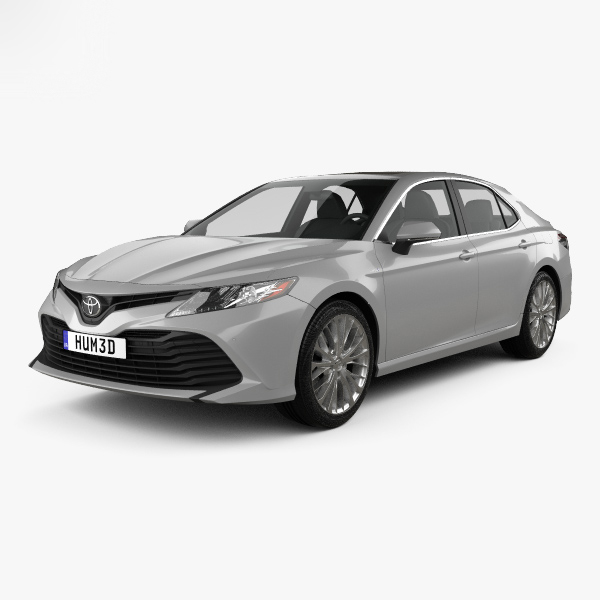 3D toyota camry xle model