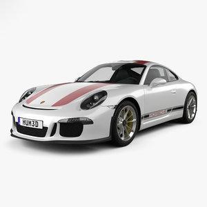 porsche 991 r 3D model
