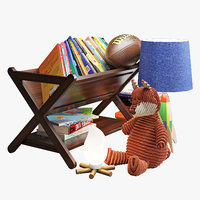 Crate and barrel children room decoration set 002