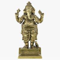 3D statue ganesha