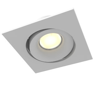 3D spot light nero