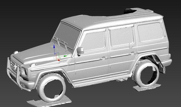 scan mercedes model