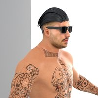 male character ready 3D model