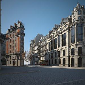 urban buildings 3D