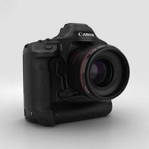 canon eos-1d x 3D model