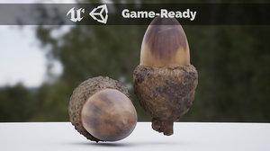 acorn photoscanned model