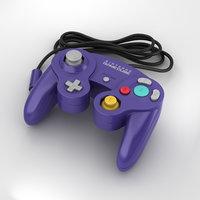 nintendo gamecube controller 3D model